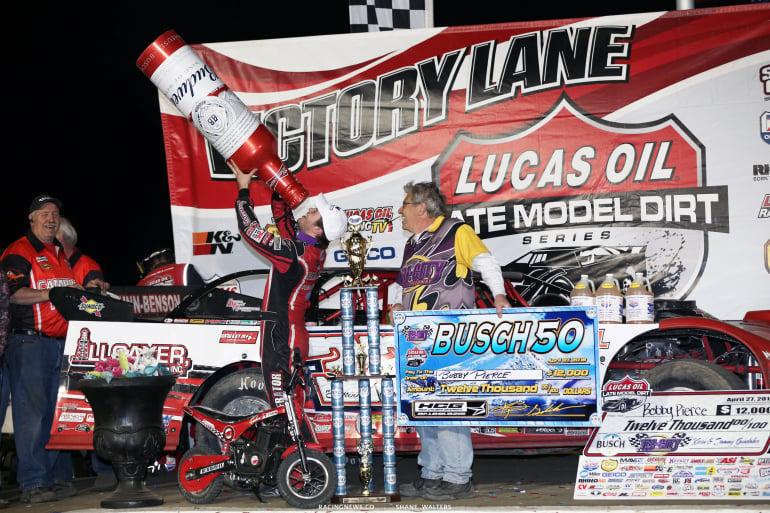 Bobby Pierce wins the Busch 50 at Tri-City Speedway 4733