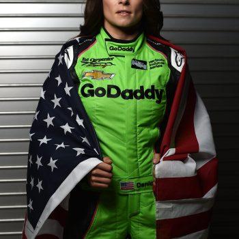 Danica Patrick - American Flag