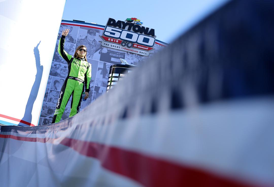 Danica Patrick in the 2018 Daytona 500