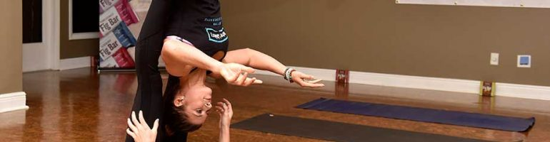 Danica Patrick is forever pursuing a single yoga pose