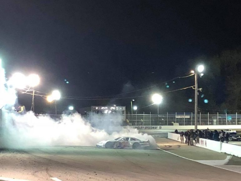 Denny Hamlin wins at Langley Speedway