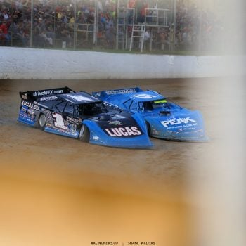 Earl Pearson Jr and Don O'Neal at Atomic Speedway 2262
