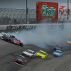 Hamlin and Keselowski crash at Texas Motor Speedway
