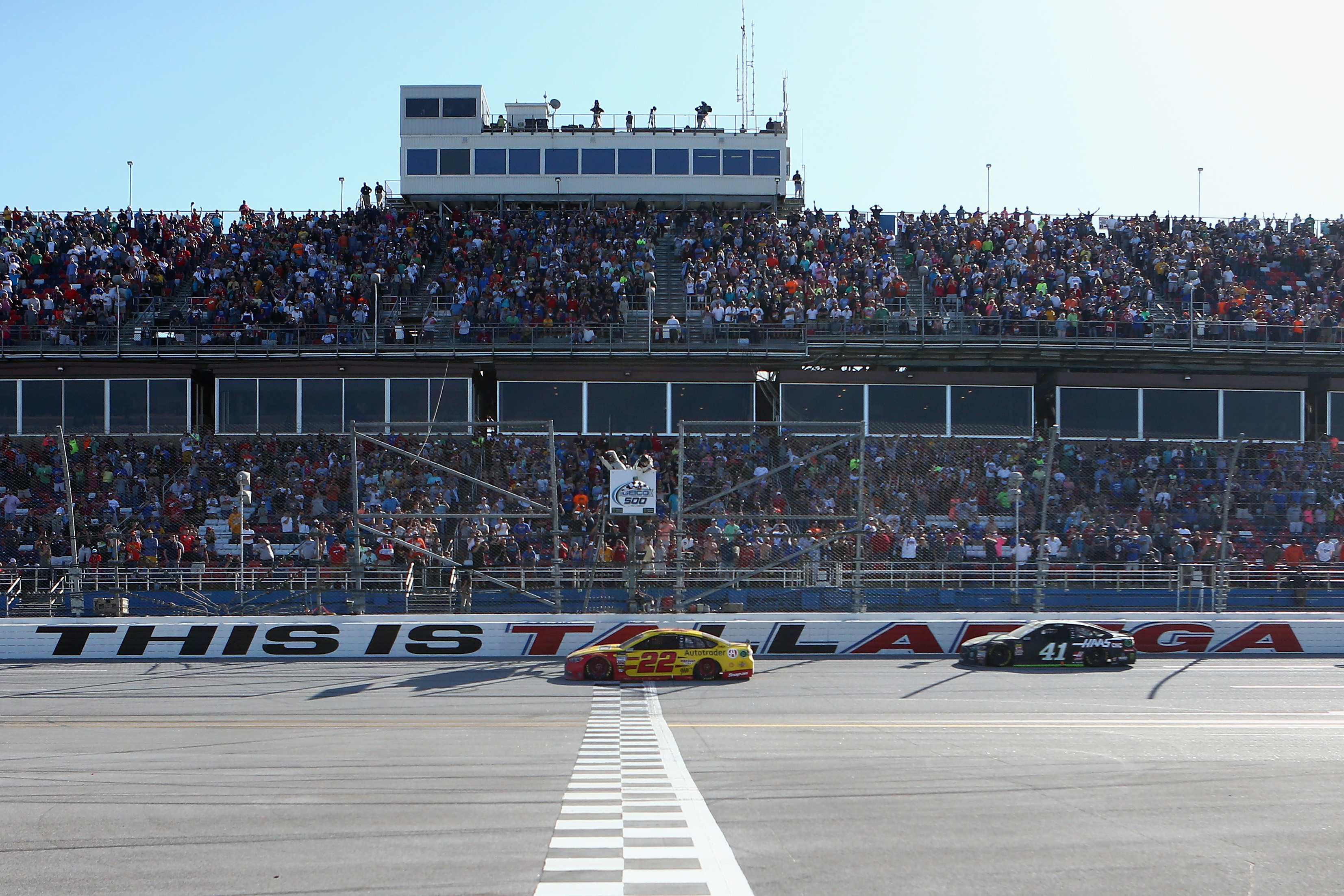 Joey Logano wins at Talladega Superspeedway