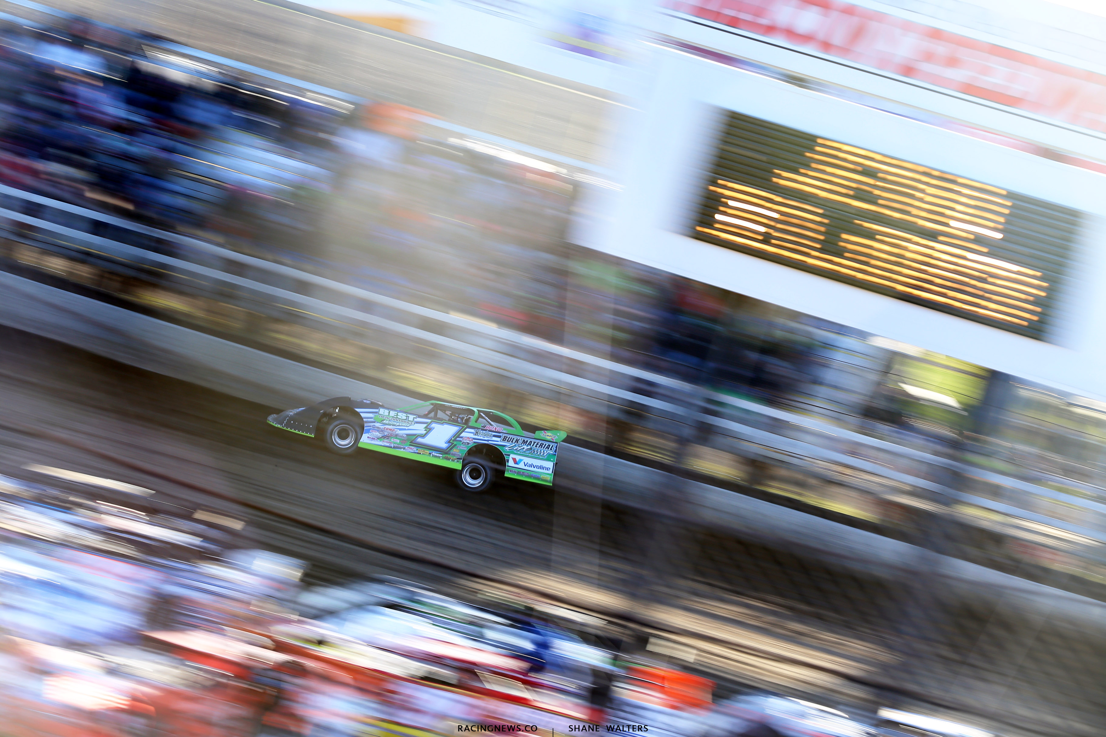 Josh Richards at Macon Speedway