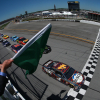 Kevin Harvick leads them to the start at Talladega Superspeedway