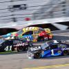 Kurt Busch, Kyle Busch and Jamie McMurray in the 2018 Daytona 500