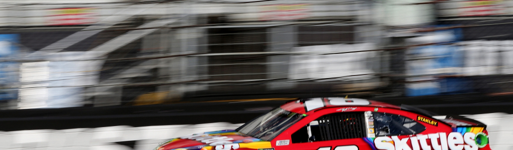 Kyle Busch talks about the traction compound and new tires at Bristol