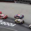 Kyle Busch bumps Kyle Larson at Bristol Motor Speedway