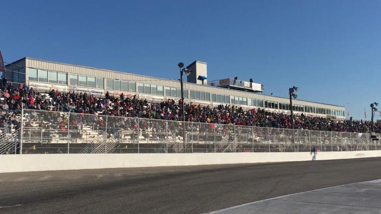 Langley Speedway grandstands