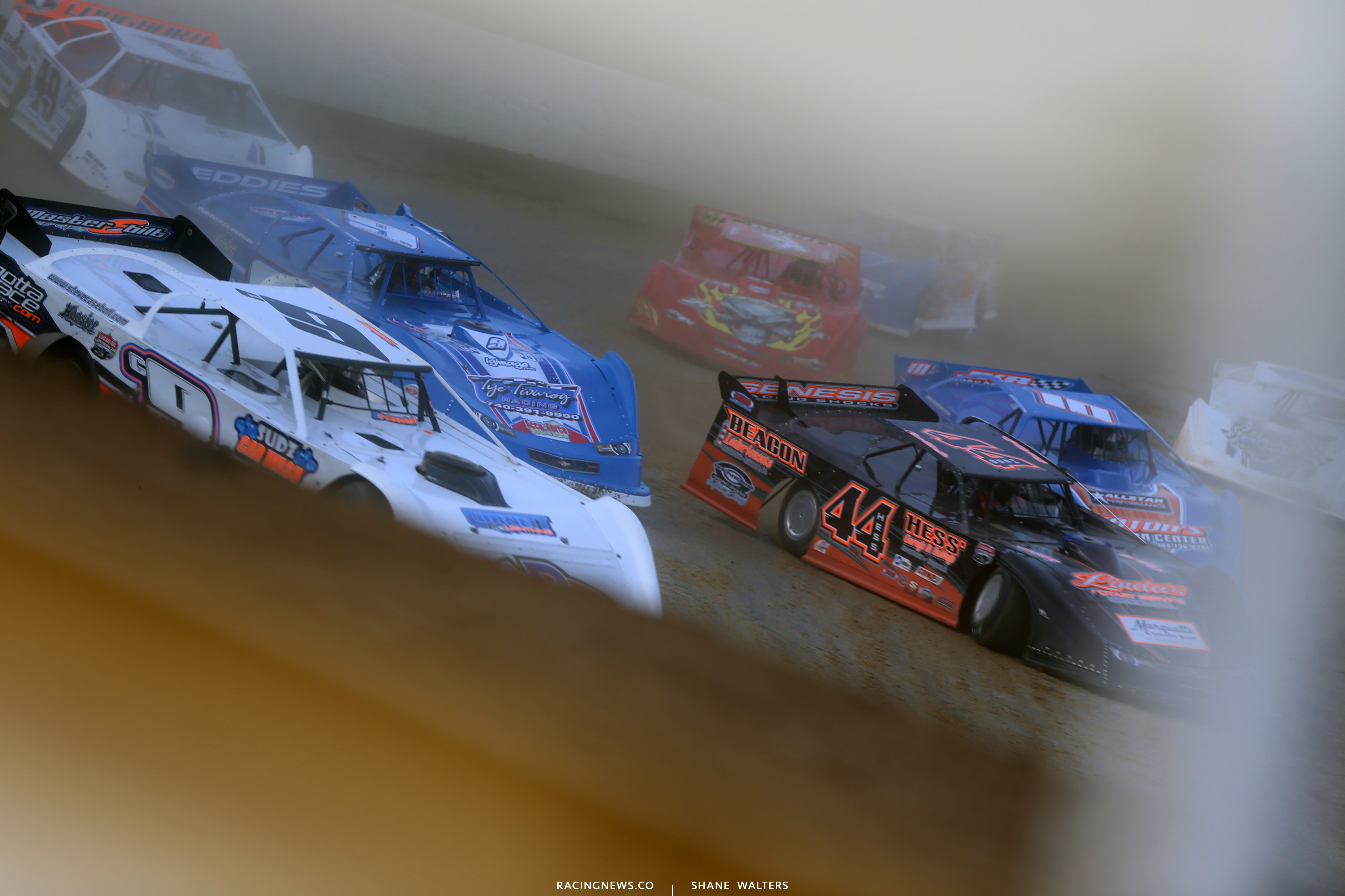 Lucas Oil Late Model Dirt Series at Atomic Speedway 2396