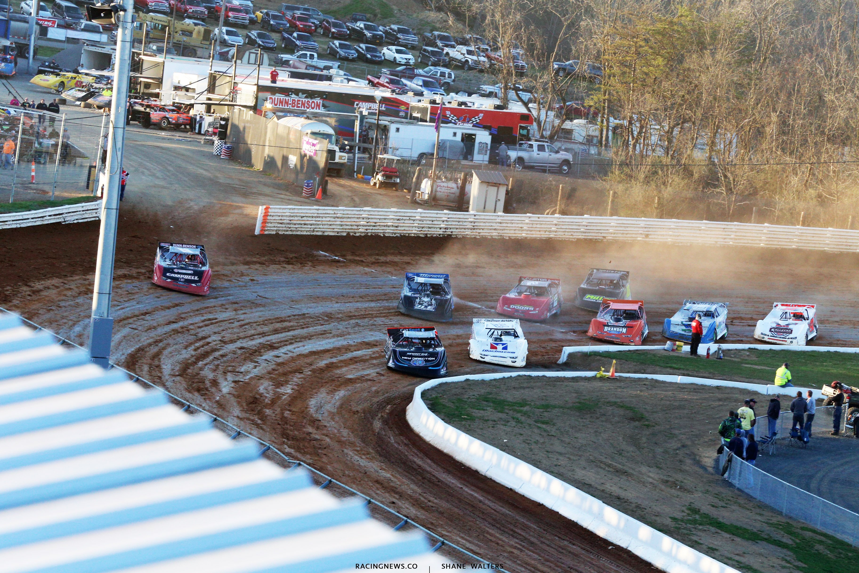 Lucas Oil Late Model Dirt Series at Port Royal Speedway 3881