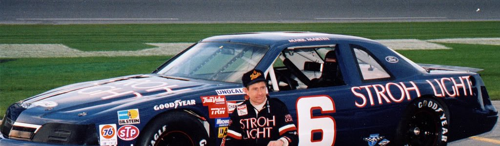 Dale Earnhardt Sr pushed Mark Martin's buttons, just for fun