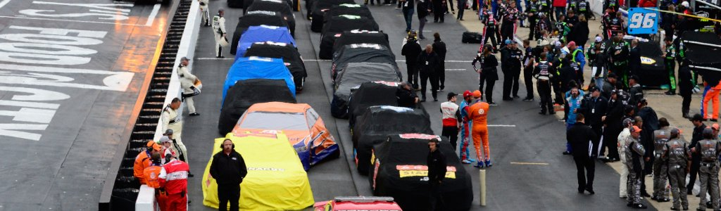 NASCAR Cup Series race at Bristol Motor Speedway postponed