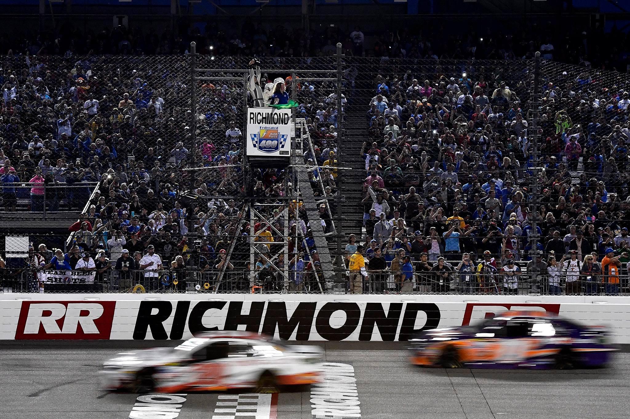 Richmond Raceway - Motion Blur