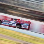 Rick Eckert at Port Royal Speedway 3556