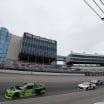 Ryan Blaney leads Brandon Jones at Texas Motor Speedway in the NASCAR Xfinity Series race