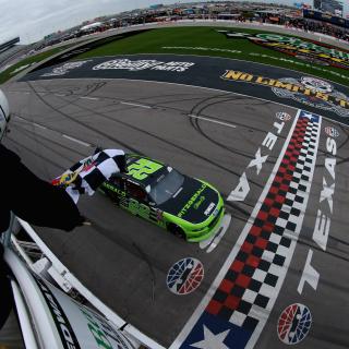 Ryan Blaney wins the NASCAR Xfinity Series race at Texas Motor Speedway