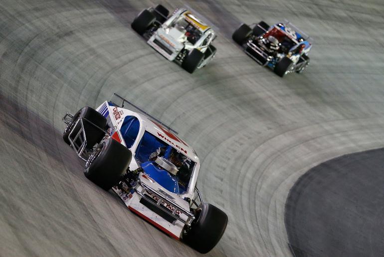 Ryan Preece at Bristol Motor Speedway - NASCAR Whelen Modified Series