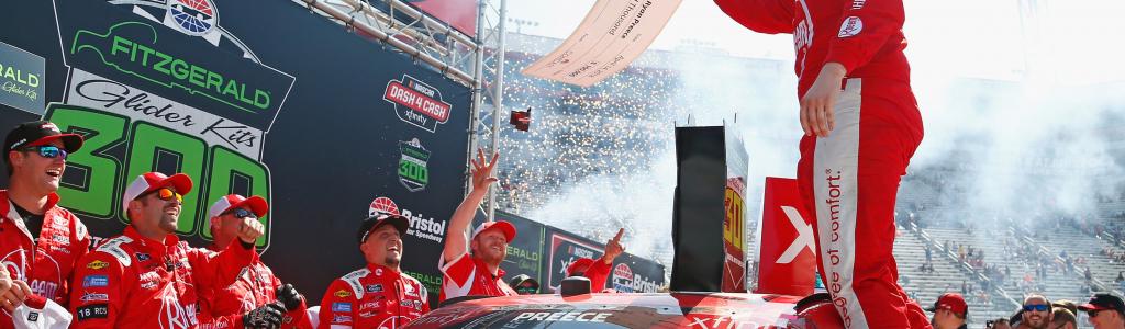 Ryan Preece will be debt free after winning Bristol Motor Speedway