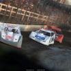 Ryan Unzicker, Jonathan Davenport and Kyle Bronson at Macon Speedway 5169