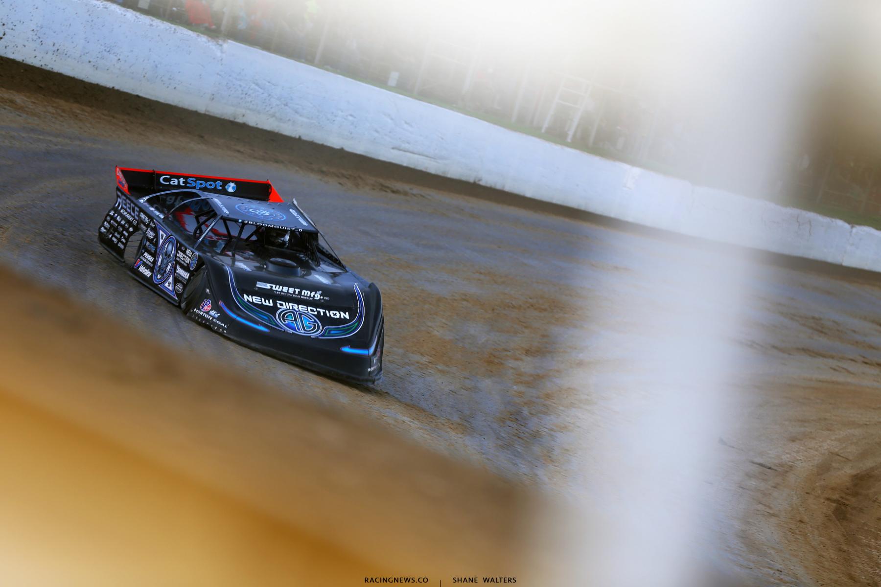 Scott Bloomquist at Atomic Speedway