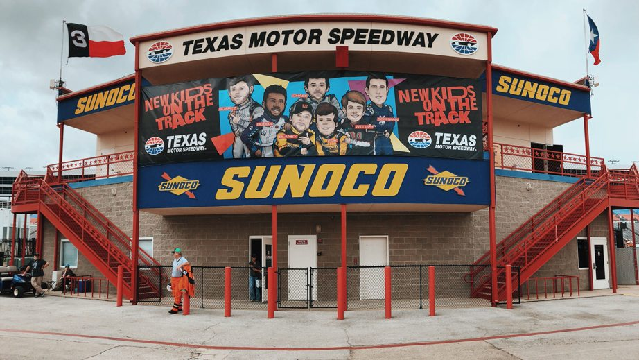 Texas Motor Speedway - New Kids on the Block poster