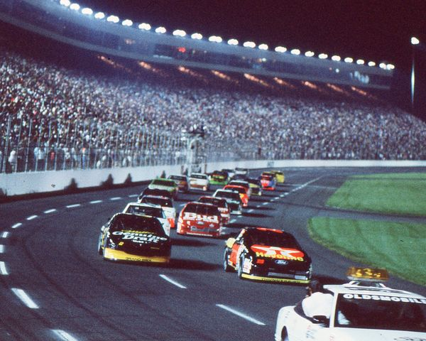 1992 Charlotte All-Star Race - One Hot Night