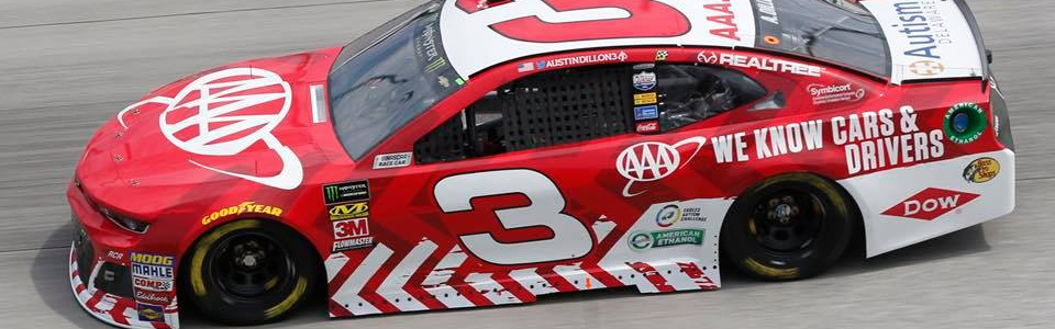 "Austin Dillon: ""The Ford's are absolutely kicking our tails"""