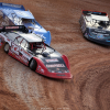 Bobby Pierce, Don O'Neal and Scott Bloomquist at 141 Speedway 6315