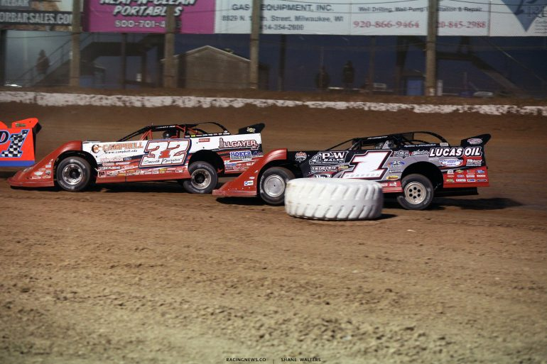 Bobby Pierce and Earl Pearson Jr at 141 Speedway 6568