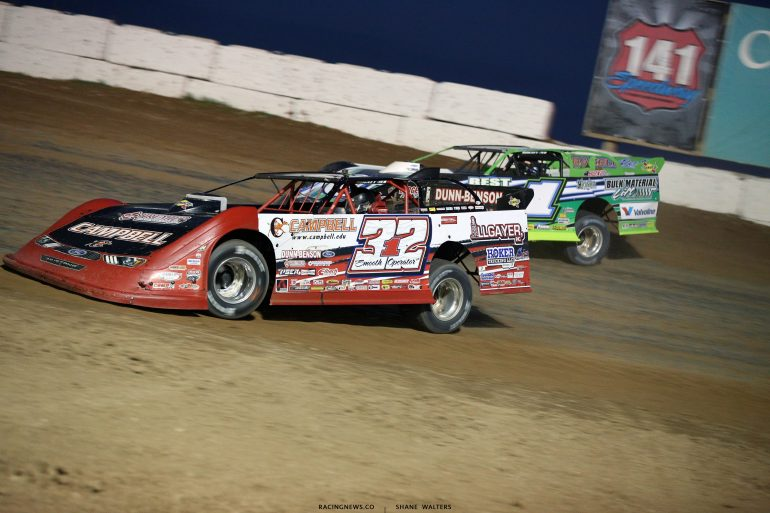 Bobby Pierce and Josh Richards at 141 Speedway 6548