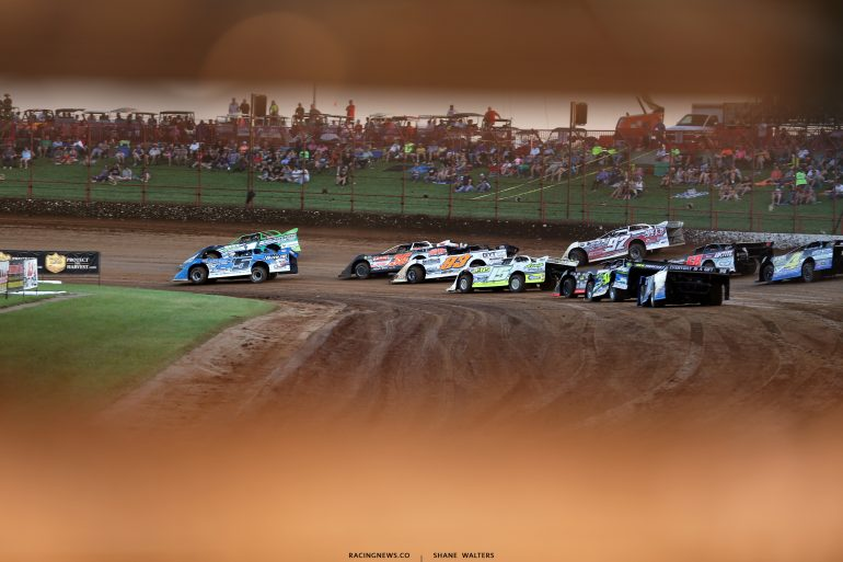 Brandon Sheppard and Josh Richards at Lucas Oil Speedway 8787