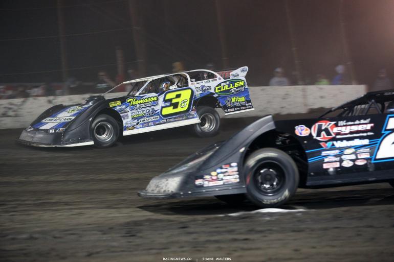 Brian Shirley at Macon Speedway 5317
