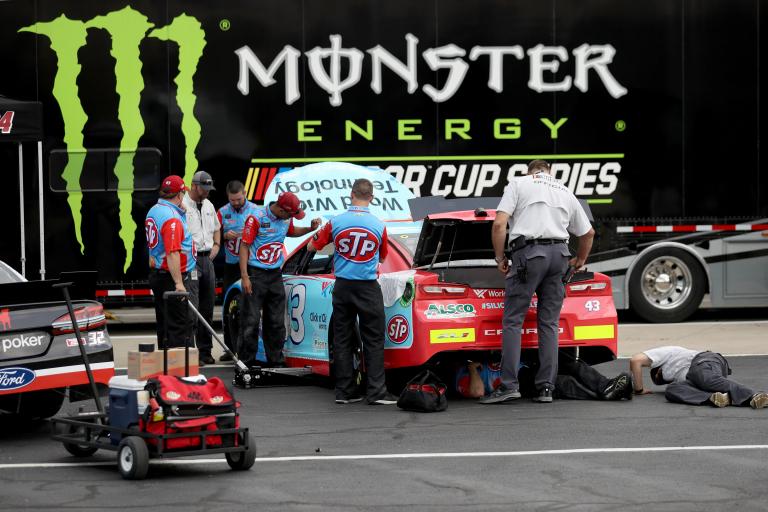 Brad Keselowski Overcomes Stomach Virus to Win at Atlanta Motor Speedway