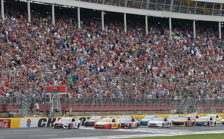 Charlotte Motor Speedway crowd for the Coca-Cola 600