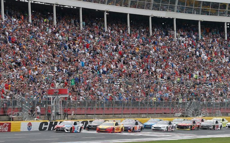 Coca cola 600 results may 27 2018 nascar cup series for Race at charlotte motor speedway