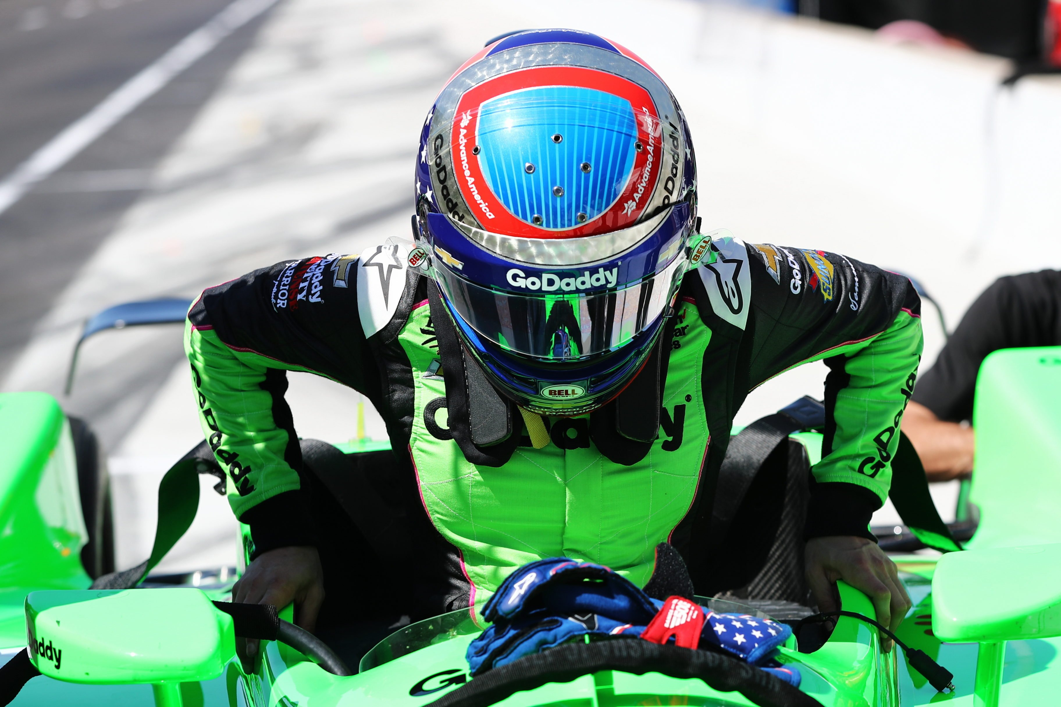 Danica Patrick - 2018 Indycar Series test