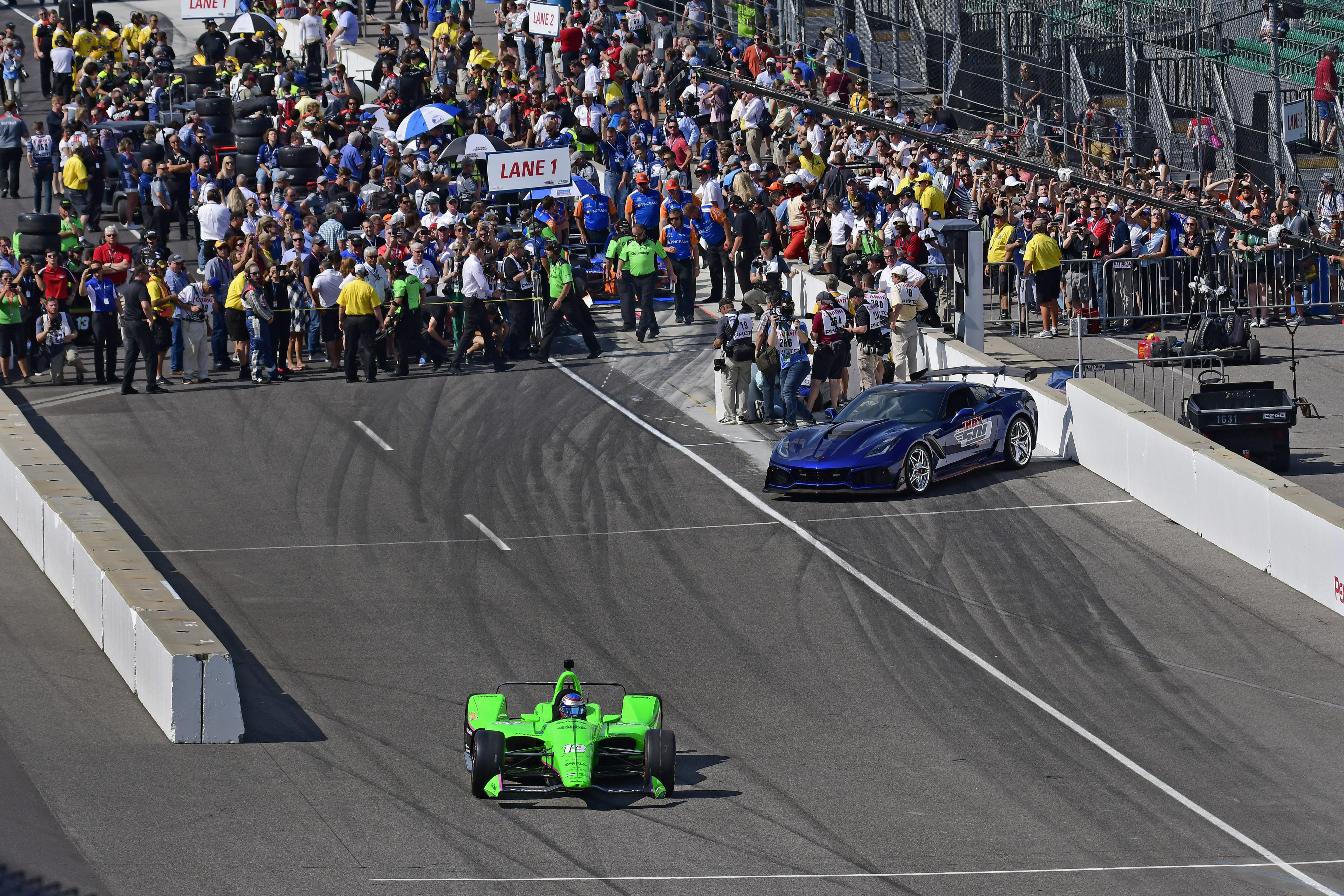 2018 Indy 500 Starting Lineup Racing News