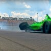 Danica Patrick crashes out of 2018 Indy 500