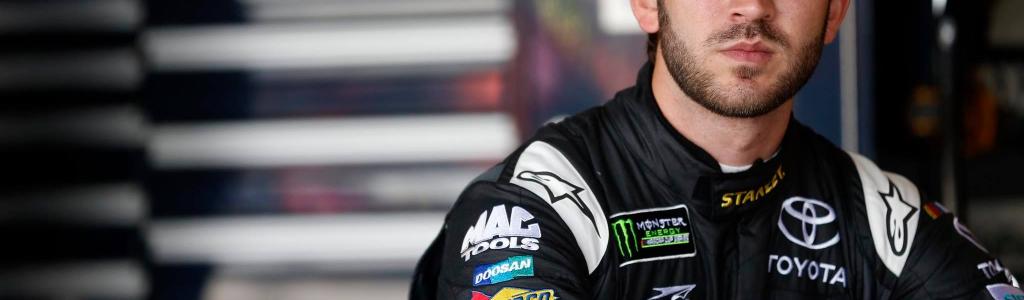 Daniel Suarez says his car failed NASCAR inspection due to a bumpy race track