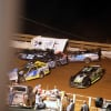 Darrell Lanigan and Gregg Satterlee crash at Tazewell Speedway 5763