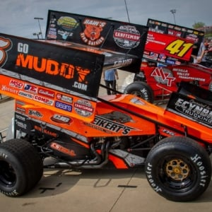 David Gravel #5 sprint car