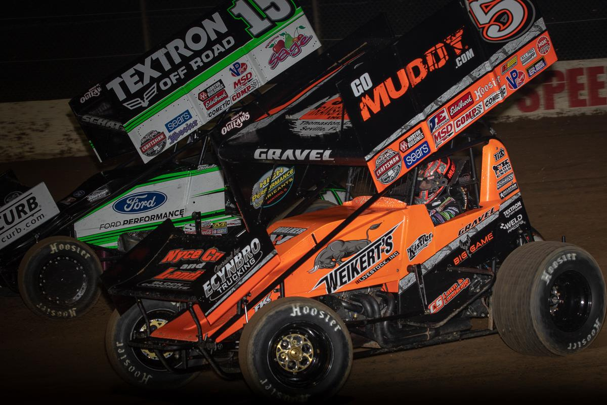 David Gravel and Donny Schatz