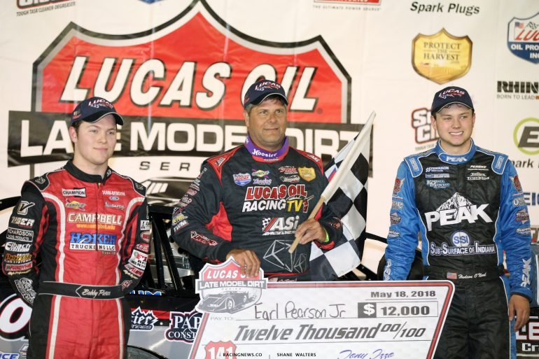 Earl Pearson Jr, Bobby Pierce and Hudson O'Neal - LOLMDS Podium