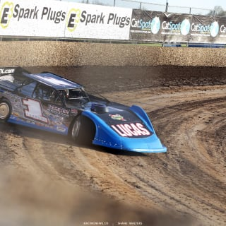 Earl Pearson Jr at Tri-City Speedway 4220