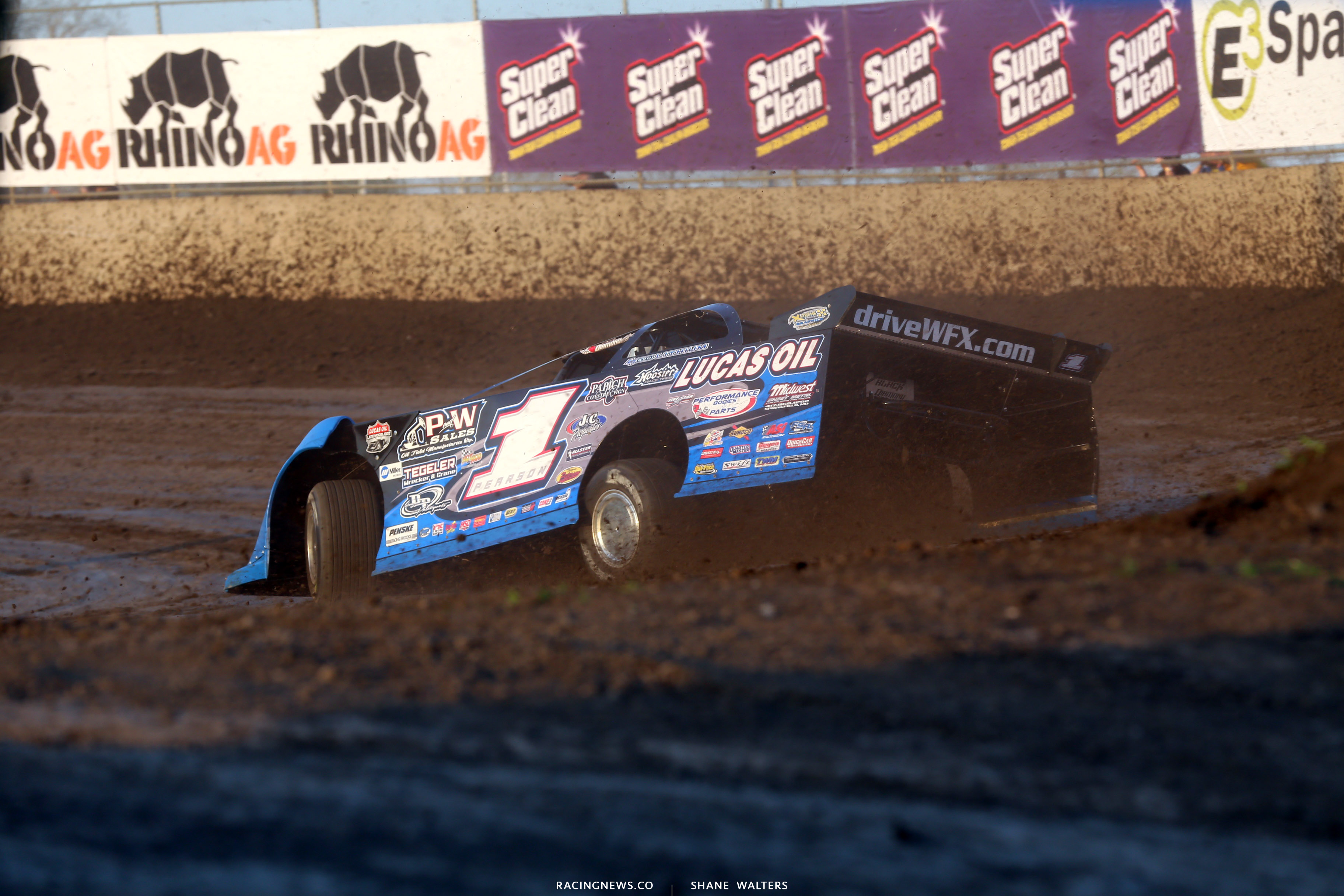 Earl Pearson Jr at Tri-City Speedway 4360