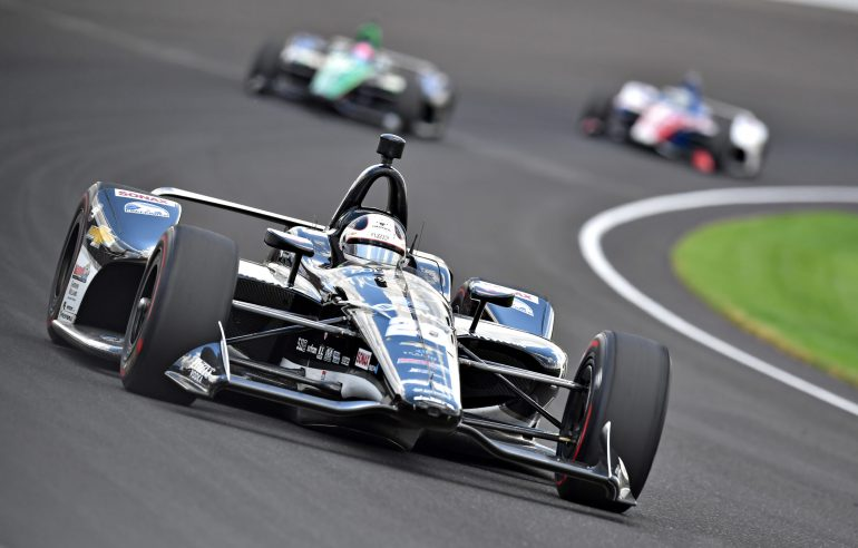 Ed Carpenter at Indianapolis Motor Speedway