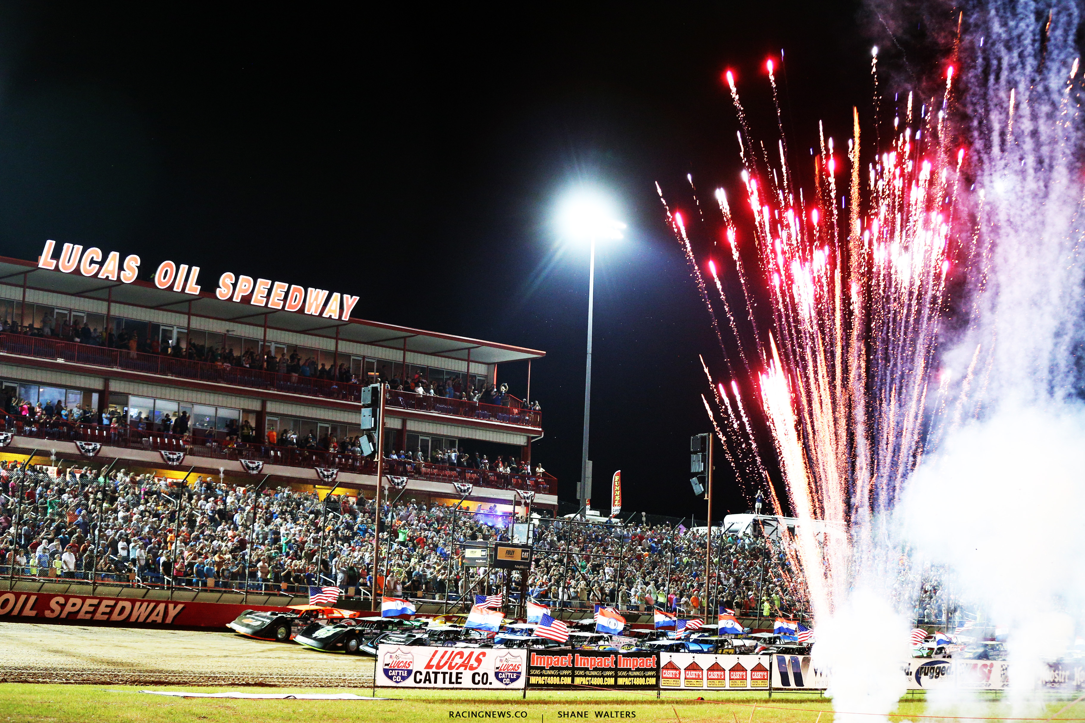 Fireworks at Lucas Oil Speedway 8947