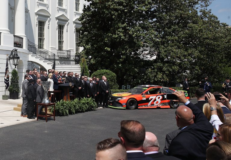 Furniture Row Racing at the White House
